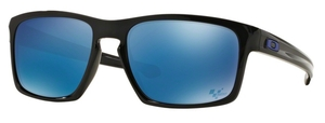 Oakley Sliver OO9262 28 Polished Black with Ice Iridium Lenses