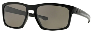 Oakley Sliver OO9262 07 Polished Black with Prizm Daily Polarized Lenses