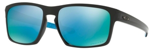 Oakley Sliver OO9262 40 Polished Black with Polarized Prizm Deep H2O Lenses