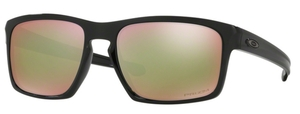 Oakley Sliver OO9262 38 Polished Black with Polarized Prizm Shallow H2O Lenses