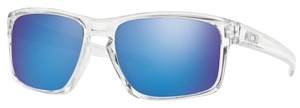 Oakley Sliver OO9262 06 Polished Clear with Sapphire Iridium Lenses