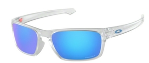 Oakley SLIVER STEALTH OO9408 04 Matte Clear / Prizm Sapphire