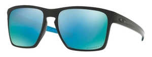 Oakley Sliver XL OO9341 12 Polished Black with Polarized Prizm Deep H20 Lenses