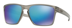 Oakley Sliver XL OO9341 18 Matte Grey Ink with Prizm Sapphire Polarized