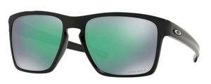 Oakley Sliver XL OO9341 19 Polished Black with Prizm Jade Lenses