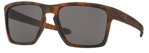 Oakley Sliver XL OO9341 04 Matte Brown Tortoise with Warm Grey Lenses