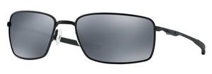 Oakley Square Wire OO4075 05 Matte Black / Black Iridium Polar