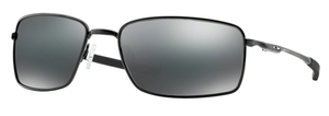Oakley Square Wire OO4075 01 Polished Black / Black Iridium