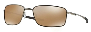 Oakley Square Wire OO4075 06 Tungsten / Tungsten Iridium Polar
