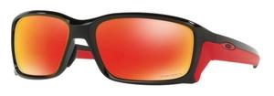 Oakley STRAIGHTLINK (Asian Fit) OO9336 06 Polished Black / Prizm Ruby