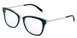 Tiffany TF2186 BLACK/CRYSTAL BLUE