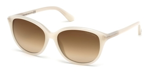 Tom Ford TF329 Karmen Cream with Brown Gradient Lenses