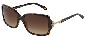 Tiffany TF4043 Dark Havana with Brown Gradient Lenses