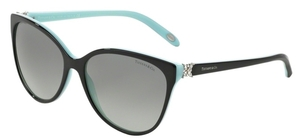 Tiffany TF4089B Black/Blue with Grey Gradient Lenses