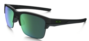 Oakley Thinlink OO9316 Matte Black with Jade Iridium Lenses