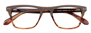 Aspex TK1023 10K - Brown Marbled + Light Brown - With Polarized And Blue Clip