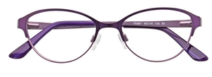 Aspex TK987 80. Satin Violet and Light Violet