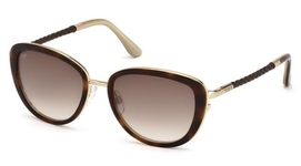 Tod's TO0079 Havana with Gradient Brown Lenses