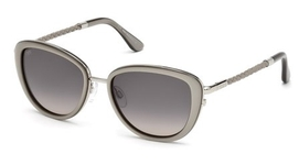 Tod's TO0079 Shiny Dark Ruthenium with Gradient Brown Lenses