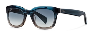 Tod's TO0121 Turquoise with Gradient Smoke Lenses