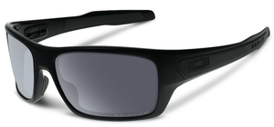 Oakley Turbine OO9263 07 Matte Black with Polarized Grey Lenses
