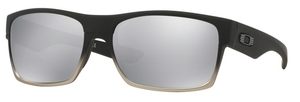Oakley Two Face OO9189 30 Matte Black / Chrome Iridium