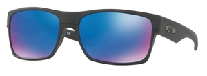 Oakley Two Face OO9189 35 Matte Black / Sapphire Iridium Polar