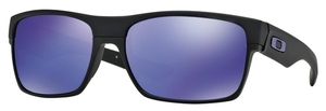 Oakley Two Face OO9189 Matte Black / Violet Iridium
