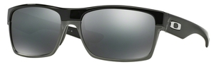 Oakley Two Face OO9189 02 Polished Black / Black Iridium