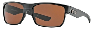 Oakley Two Face OO9189 03 Polished Black / Dark Bronze