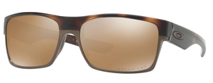 Oakley Two Face OO9189 17 Polished Brown Tortoise with Polarized Tungsten Iridium Lenses