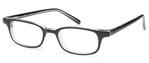 Capri Optics U-13 Black / Crystal