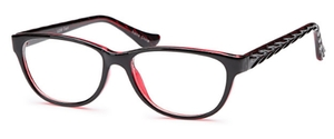 Capri Optics U 206 Black Wine