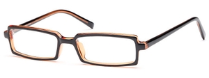 Capri Optics U-37 Black Amber