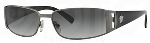 Versace VE2021 Gunmetal w/ Grey Gradient Lenses