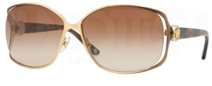 Versace VE2125B Gold/Brown