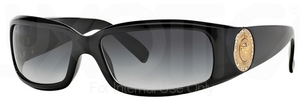 Versace VE4044B Black w/ Gray Gradient Lenses