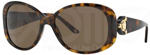 Versace VE4221 Havana w/ Brown Lenses