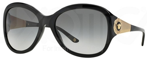 Versace VE4237B Black w/ Grey Gradient Lenses GB1/11