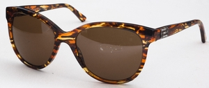 Versace VE4246B Striped Honey/Brown/Oran