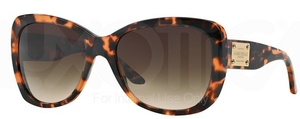 Versace VE4250 Amber Havana w/ Brown Gradient