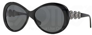 Versace VE4256B Black w/ Gray Lenses