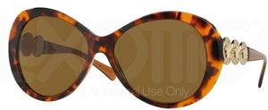 Versace VE4256B Havana w/ Brown Lenses