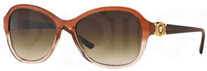 Versace VE4262 Opal Beige/Beige Transp w/ Brown Gradient Lenses  509113