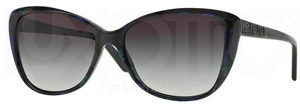 Versace VE4264B Marbled Black/Green/Blue w/ Grey Gradient Lenses