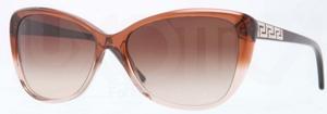 Versace VE4264B Opal Beige/Beige Transp w/ Brown Gradient Lenses