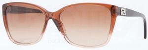Versace VE4268B Dark Brown Transp/Brown Transp w/ Brown Gradient Lenses