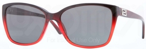 Versace VE4268B Dark Red/Red Transp w/ Grey Lenses