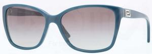 Versace VE4268B Petroleum Blue w/ Grey Gradient Lenses