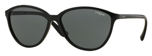 Vogue VO2940S Black with Gray Green Lenses
